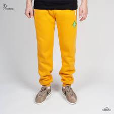Брюки <b>PYROMANIAC</b> Fitted Sweatpants Желтый размер М ...