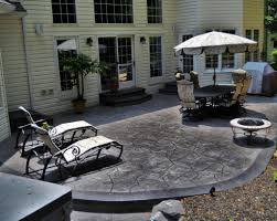 stamped concrete patio with fire pit cost. Full Size Of Backyard:backyard Stamped Concrete Patio Ideas Cost 30x30 Slab With Fire Pit C