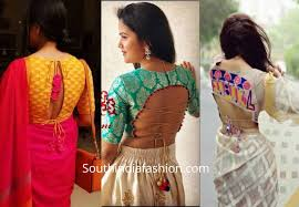 Blouse Design For Youngsters Back Knot Saree Blouse Designs Backless Blouse Designs