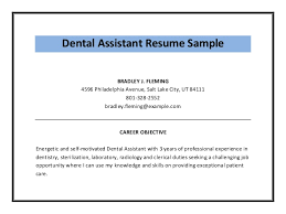 Dental Assistant Resume Example Sample Dental Assistant Resume ... resume examples resume samples for dental assistant with dental skills summary as infection control and