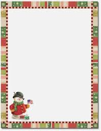 Christmas Letterhead Templates Free Free Christmas Stationery Templates Festival Collections