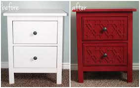hemnes ikea furniture. Creative Of Hemnes IKEA Nightstand Perfect Bedroom Remodel Ideas With Ikea Makeover Six Sisters39 Stuff Furniture 7