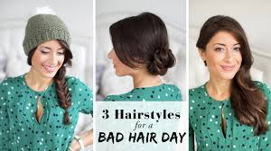 Luxy Hair Style 3 hairstyles for a bad hair day youtube 1044 by wearticles.com