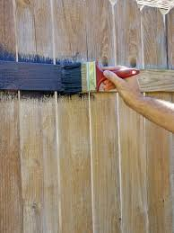 Painted Fences fence painting and staining guide quick tips hgtv 3671 by xevi.us