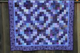Purple Quilt Patterns Interesting Decoration
