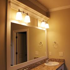 Bathroom Framed Mirrors Custom Framed Mirrors For Bathrooms Free Designs Interior
