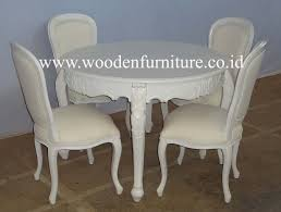 french style dining chair round dining table clic