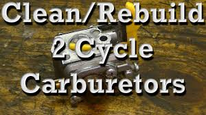 Zama Carb Rebuild Kit Chart How To Clean Rebuild Walbro Zama 2 Cycle Carburetors On Chainsaws Trimmers