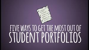 Student Portfolios Five Ways To Get The Most Out Of Student Portfolios Youtube