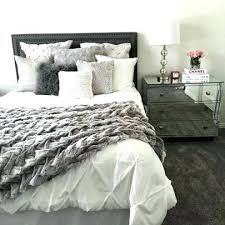 White master bedroom Minimalist Grey And White Bedroom Ideas White Bedding Ideas Comforter With Gray Textured Throw Off White Bedding Grey And White Bedroom The Bedroom Grey And White Bedroom Ideas Gray And White Bedroom Ideas Gray And