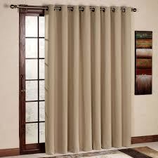 image of curtains sliding glass door color