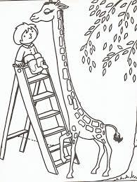 Giraf Kleurplaat Mooi Kleurplaat Giraf Teaching T Giraffe Stamps And