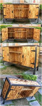 reclaimed wood pallet bench. Reclaimed Wood Pallets Plus Steel TV Stand Plan Pallet Bench
