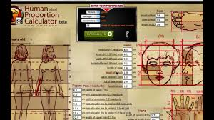 Human Proportions Chart Human Proportion Calculator For Artists