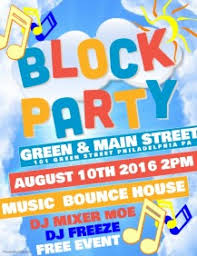 Block Party Flyers Templates 15 330 Block Party Event Customizable Design Templates