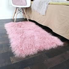 pink sheepskin rug natural sheepskin rug in pink color sheep fur bedside carpet pink sheepskin rug