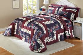 Caledonia Quilted Patchwork Bedspread from Collections Etc. & Caledonia Quilted Patchwork Bedspread Adamdwight.com