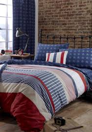catherine lansfield stars and stripes duvet set multi coloured mcelhinneys
