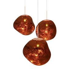 tom dixon melt pendant copper