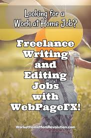 webpagefx lance writing and editing jobs webpagefx is seeking lance writers and copy editors they are specifically seeking writers looking for