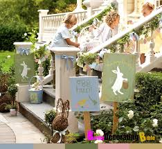 easy easter decorating ideas stairs pottery barn better decorating