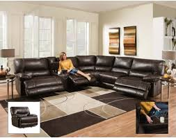 sectional couches with recliners. Contemporary Brown Leather Sectional Sofa Recliner. Couches With Recliners