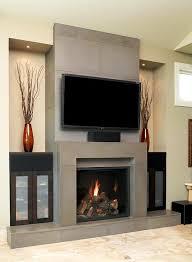 image of contemporary fireplace photos