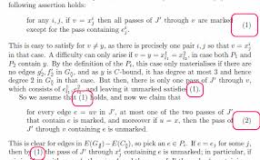 math mode how does one ref and cite paragraphs in a example