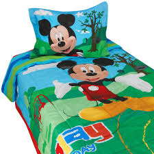 Mickey Mouse Clubhouse Bedroom Mickey Mouse Clubhouse Twin Bedding None Psa Graded Fabric