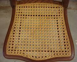horseshoe shaped traditional hole chair caning