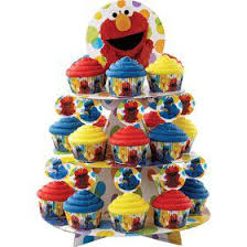 Elmos 1st Birthday Cake Supplies Girls Boys Birthday Party