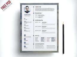 Resume Free Templates Resume Template Subtle Gold Free Resume