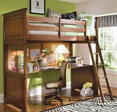 view in gallery loft bunk bed with a cool desk below fits in effortlessly in any small bedroom