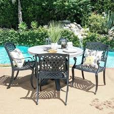 concrete patio table and benches concrete round table and benches outdoor outdoor 5 piece round light
