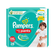 Pampers Baby Dry Pant Style Diapers Xxl Size 28 Pieces Info