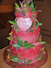 Tinkerbell Birthday Cakes Images Healthy Food Galerry