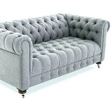 Grey Velvet Tufted Sofa Living Room Light  Popular Bed Home47