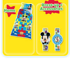 mickey mouse bedding and homeware at the argos mickey and minnie mouse