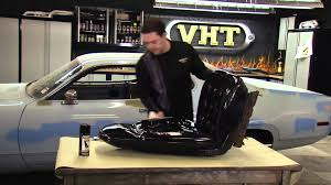 Painting Car Seats with VHT Vinyl Dye - Restoration of 1972 Plymouth  Satellite Sebring Plus - YouTube
