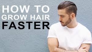 How To Grow Hair Faster Longer Tips To Grow Men S Hair Youtube