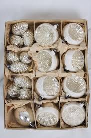 3 X Tannenzapfen Silber Antik