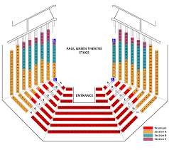 Virginia Theater Seating Chart Paul Green Theatre Playmakers Repertory Company