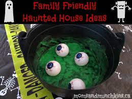 Family friendly haunted house ideas #Halloween #HauntedHouse---white  paper/sheet