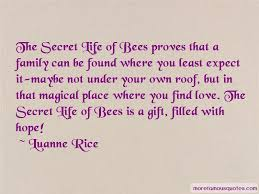 Secret Life Of Bees Quotes Cool Quotes About Bees In The Secret Life Of Bees Top 48 Bees In The