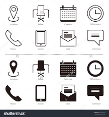 Phone And Address Phone Email Address Icon 158765 Free Icons Library