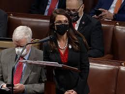 Lauren Boebert Rails Against Democrats ...