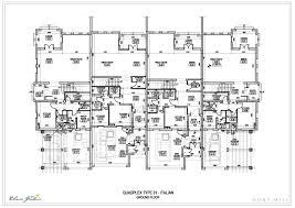 Quadplex Plans  NabeleacomQuadplex Plans