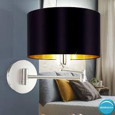 Schlafzimmer Lampe Schwarz Gold