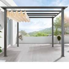 aluminium patio cover surrey: description below quotturn a patio into a pavilion with a freestanding german made pergola you assemble yourself retractable canopy included