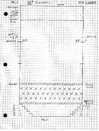 Using Knitting Graph Paper And Reading Knitting Charts
